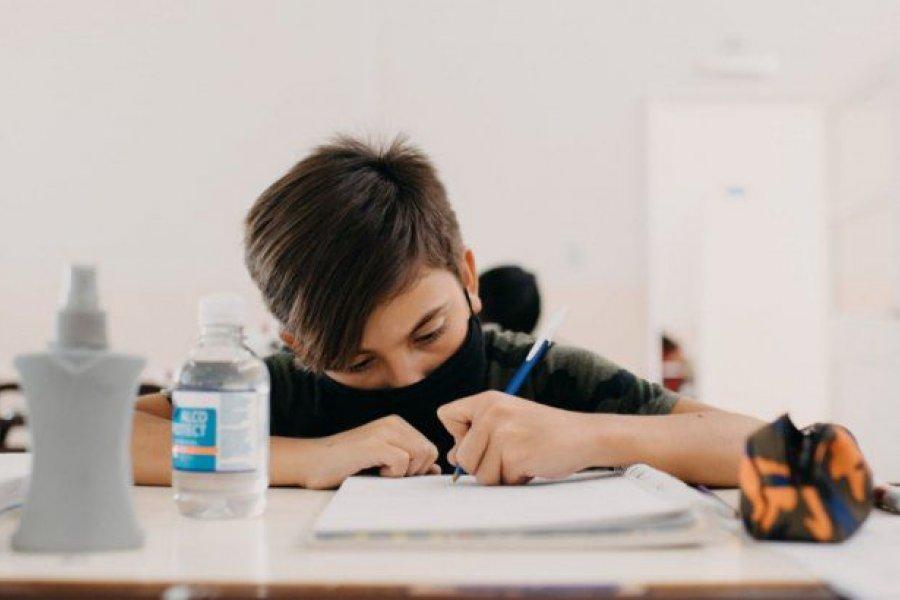 San Juan: Comenzaron las clases presenciales para reforzar el aprendizaje de los estudiantes