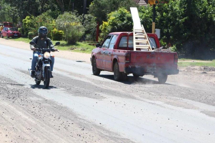 Autovía Ruta 5: un increíble error de la constructora que perjudica el tránsito