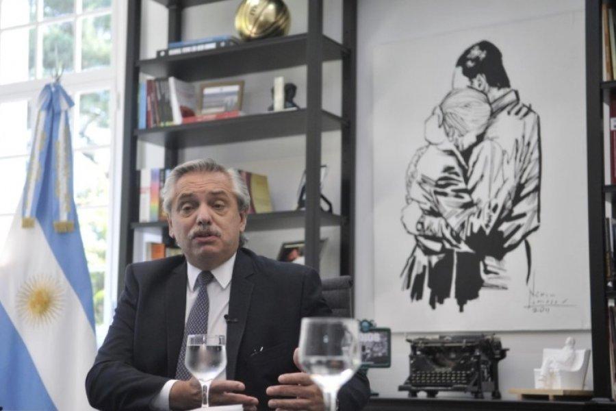 """Alberto Fernández: """"Preferiría no hacerlo, pero si el campo no entiende voy a subir las retenciones o establecer cupos"""""""