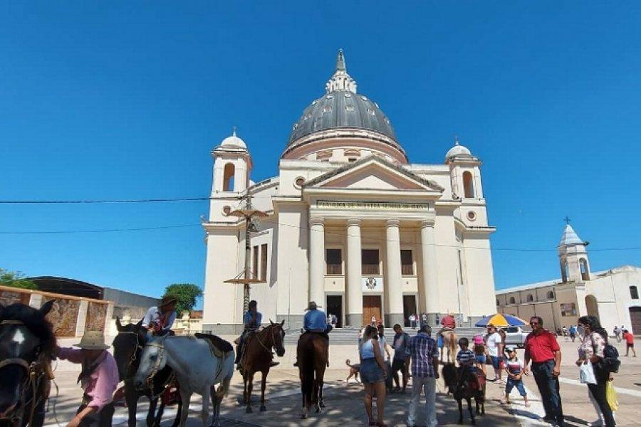 Aumenta el número de peregrinos en Itatí