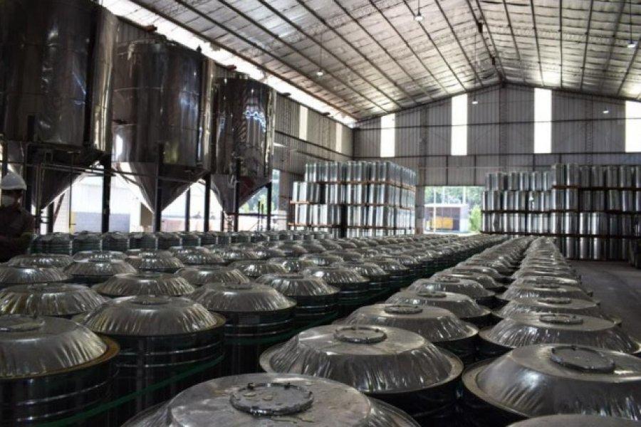 Derivados de la resina se afianzan como tercer producto exportable de Corrientes