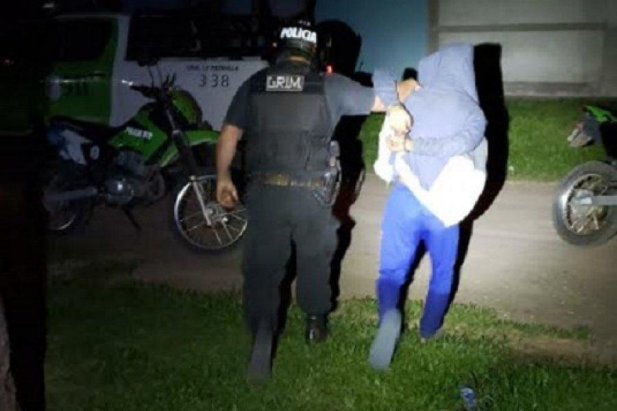 Arrebatador detenido