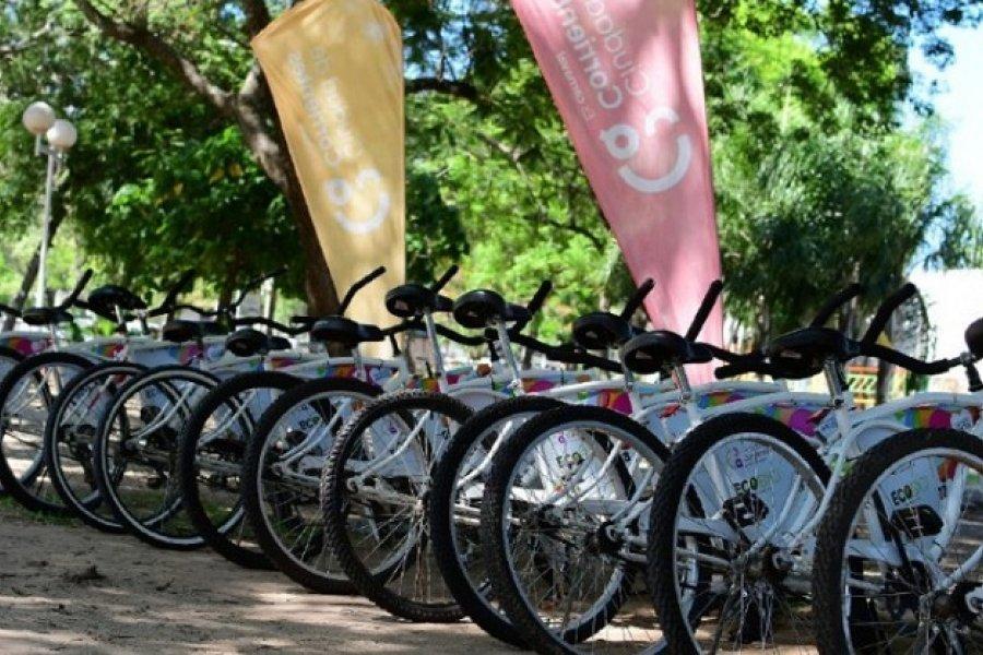 Se extiende el horario para el uso de bicicletas gratuitas en Costanera