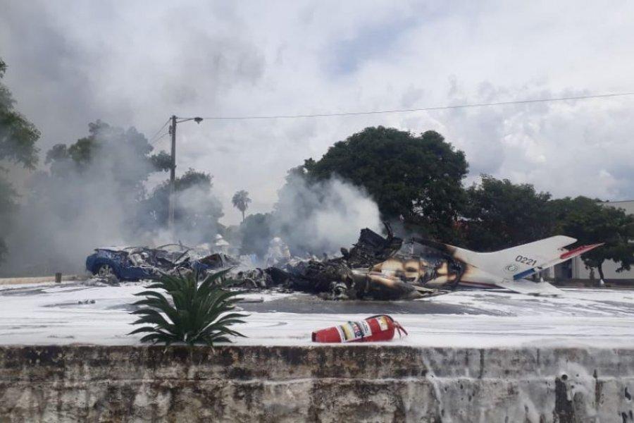 Siete personas murieron tras caída de una avioneta