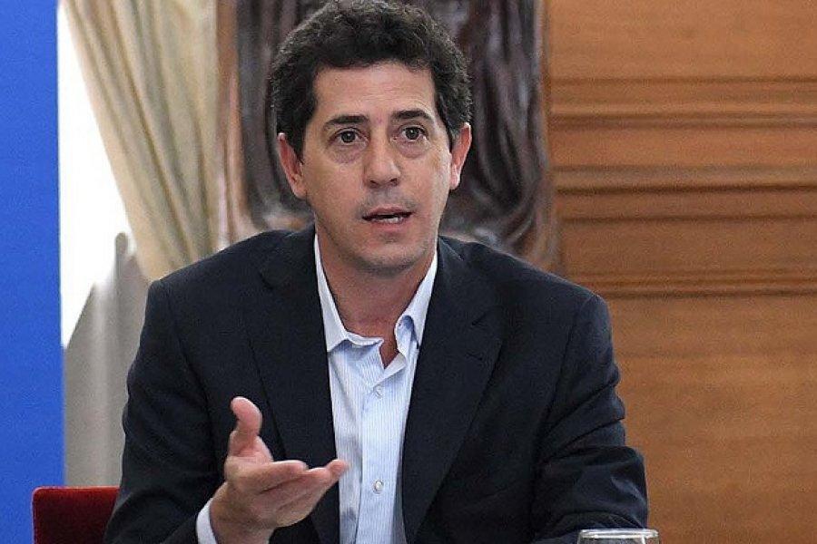 El ministro del Interior Wado de Pedro ya está en Corrientes