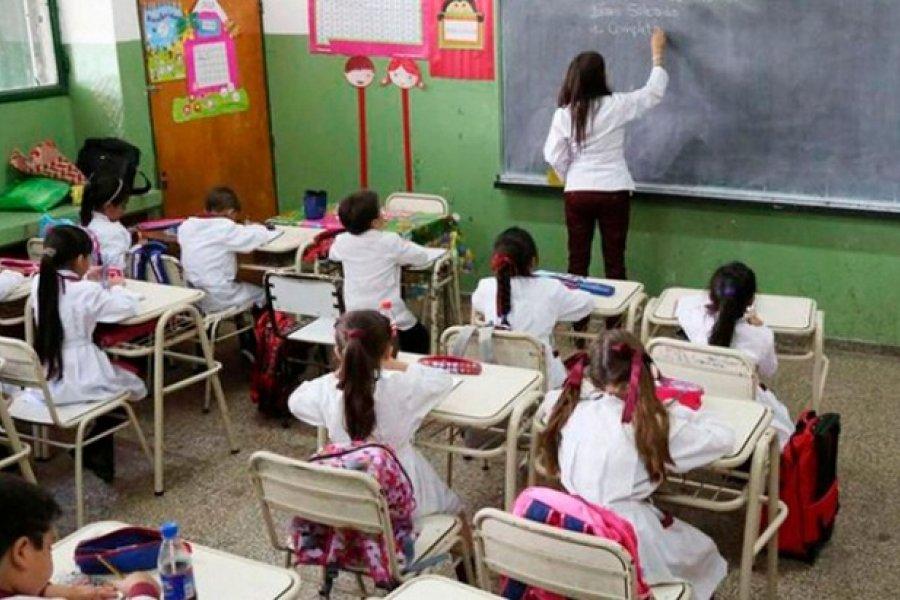 A 18 días de comenzar las clases la Provincia inicia discusión salarial