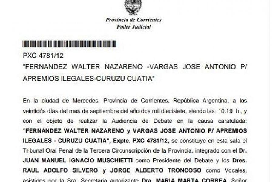 Confirman condena a efectivos policiales por vejaciones