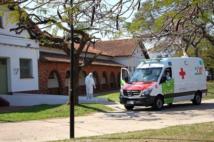 Covid: Un hombre de Capital y otro de Libres fallecieron en el Hospital de Campaña