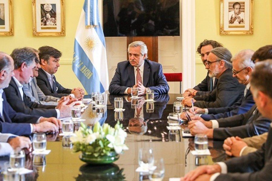 El Presidente recibe a la Mesa de Enlace