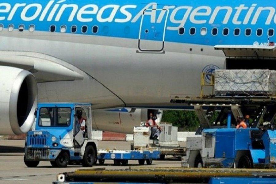 Parte otro vuelo de Aerolíneas Argentinas a Moscú para traer más vacunas