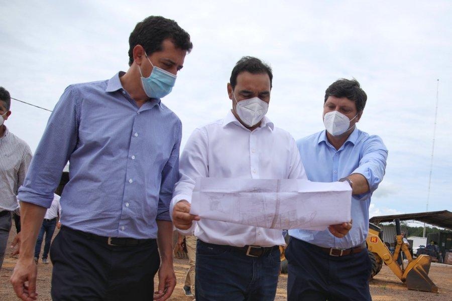 Funcionarios nacionales recorrieron el Puerto y Parque Industrial de Ituzaingó