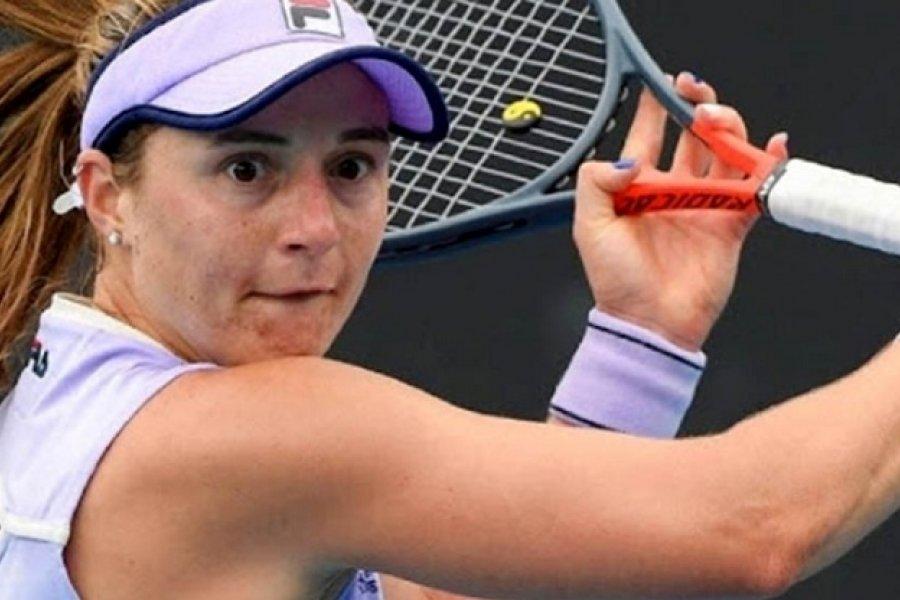 Nadia Podoroska quedó eliminada en la segunda ronda del Abierto de Australia
