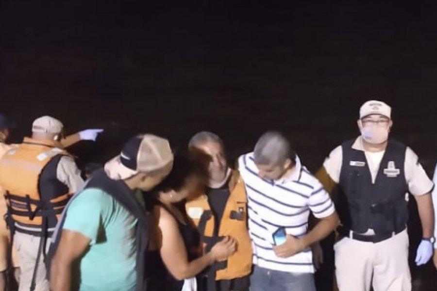 Corrientes: Prefectura encontró a Miguel Ángel sano y salvo