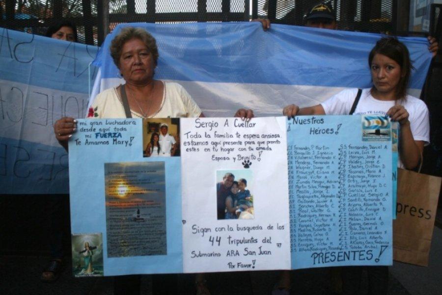 Aprobaron la reparación económica para los familiares de los tripulantes del ARA San Juan