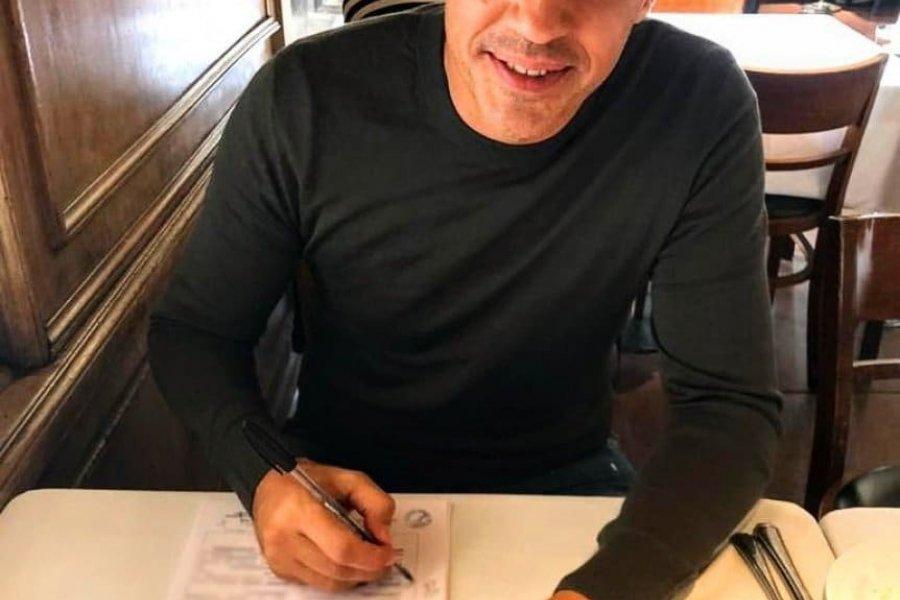 Hernán Crespo se convirtió en el nuevo entrenador de San Pablo