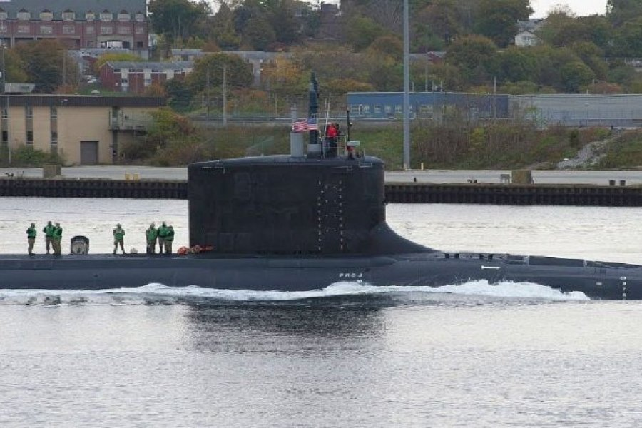 Preocupación oficial por la operación de un submarino de EE.UU. en el Atlántico Sur