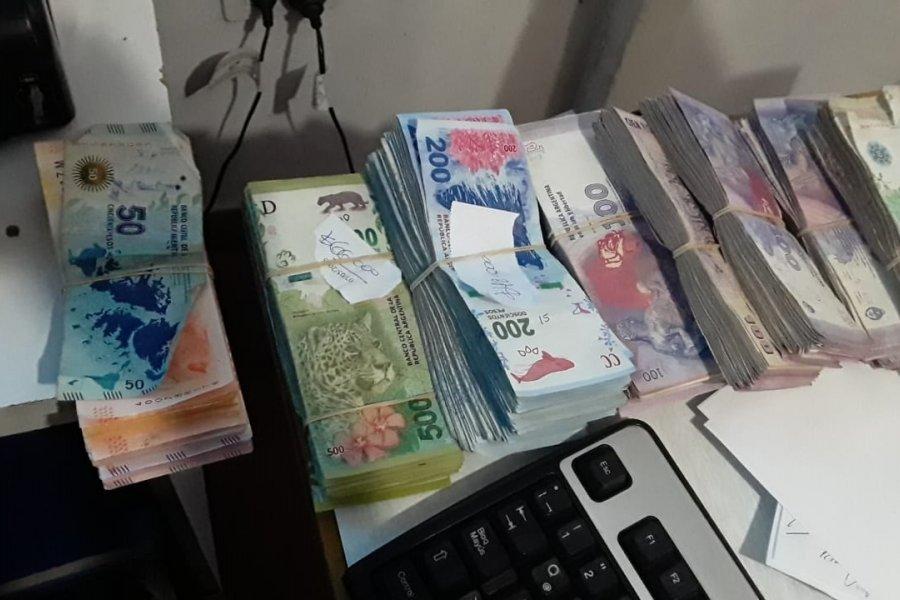 Recuperaron dinero robado y detuvieron a un hombre