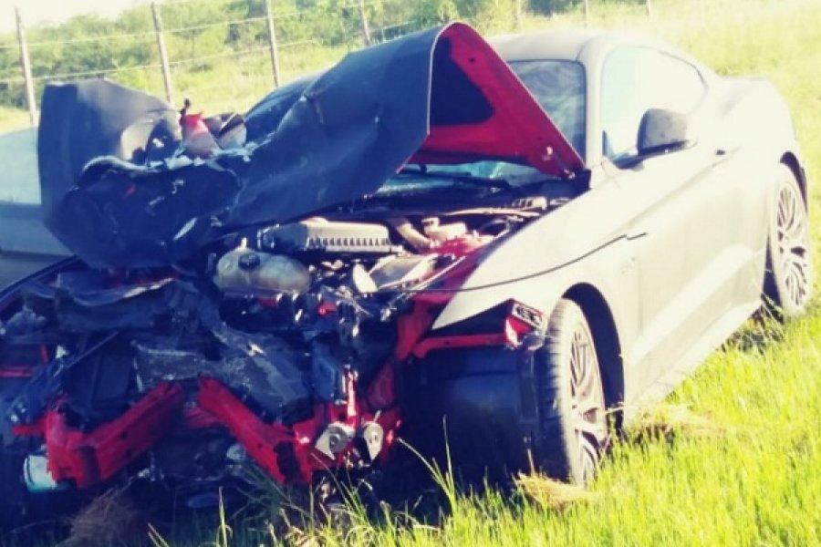 Trágico choque en Ruta 12: Pericias indican que el empresario se cruzó de carril