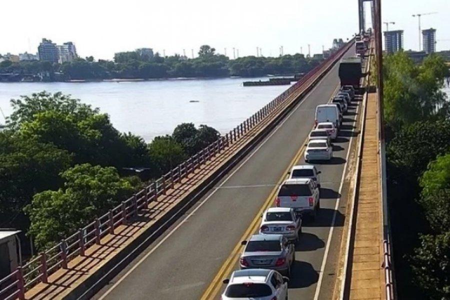 Las filas de ingreso a Corrientes superaron los 2 kilómetros