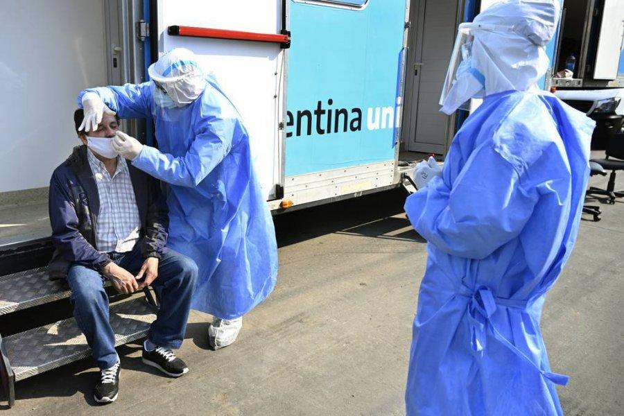 Coronavirus: ya hay transmisión comunitaria en el país de la cepa británica