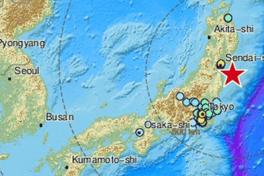 Más de 100 heridos en Japón tras terremoto frente a costas de Fukushima