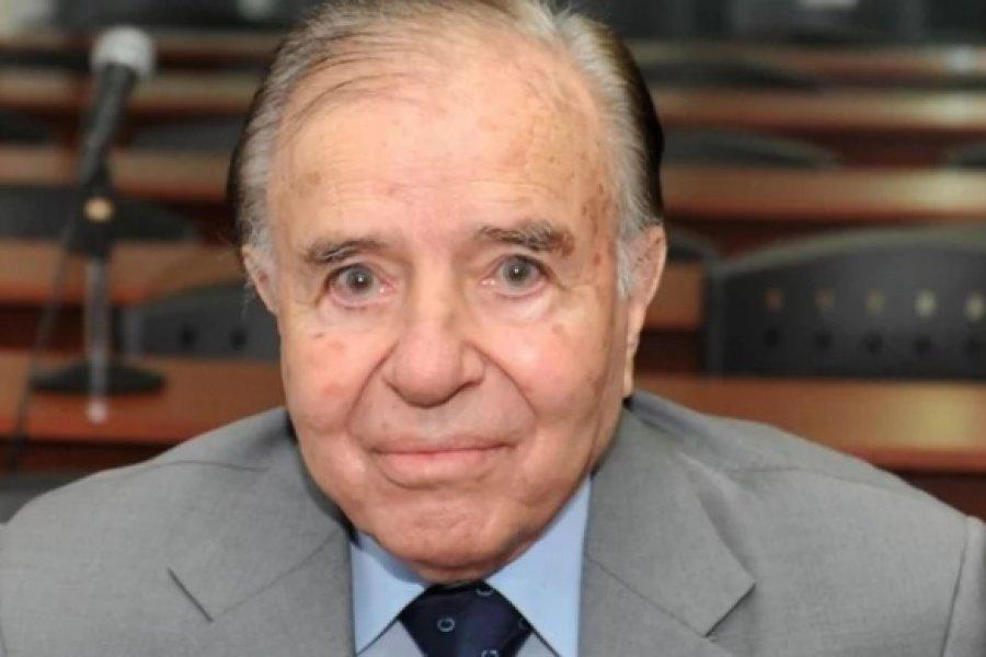 Murió el ex presidente Carlos Saúl Menem