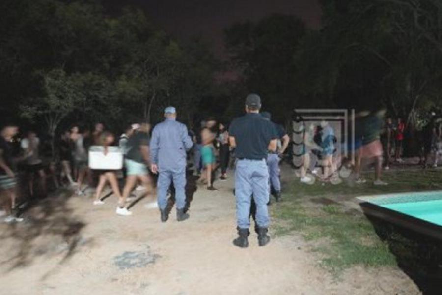 Chaco: Detectaron 32 fiestas clandestinas durante el fin de semana