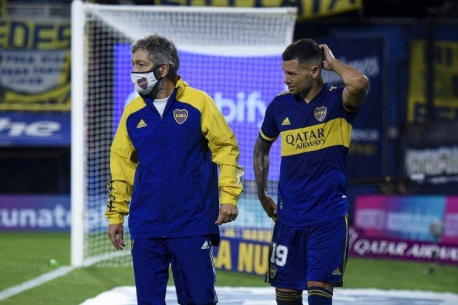 Mauro Zárate llevó tranquilidad sobre su lesión