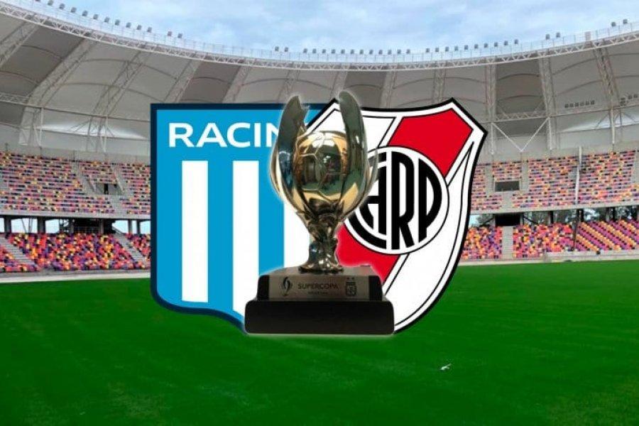 River-Racing: fecha confirmada para la final de la Supercopa Argentina