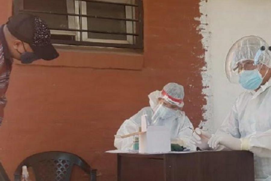 Brote Covid: Estiman entre 20 y 50 positivos más en Santa Lucía