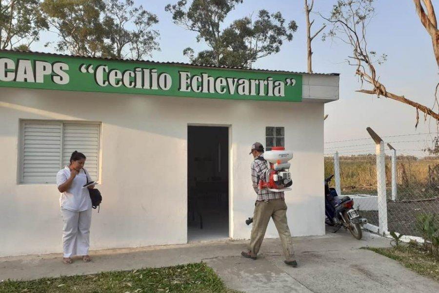Primer caso de Coronavirus en Echevarría