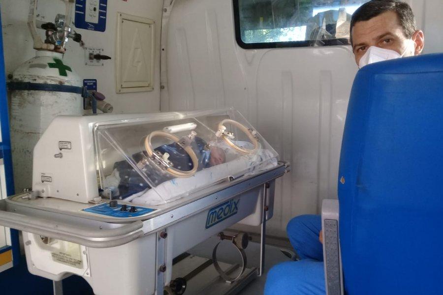 Vigésimo primer nacimiento en el hospital de Campaña