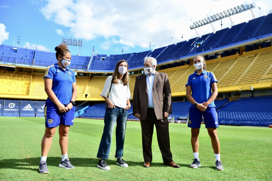 ANSES firmó convenio con el Club Atlético Boca Juniors