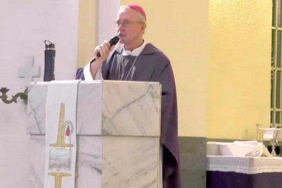 Stanovnik presidió una misa virtual por el Miércoles de Ceniza