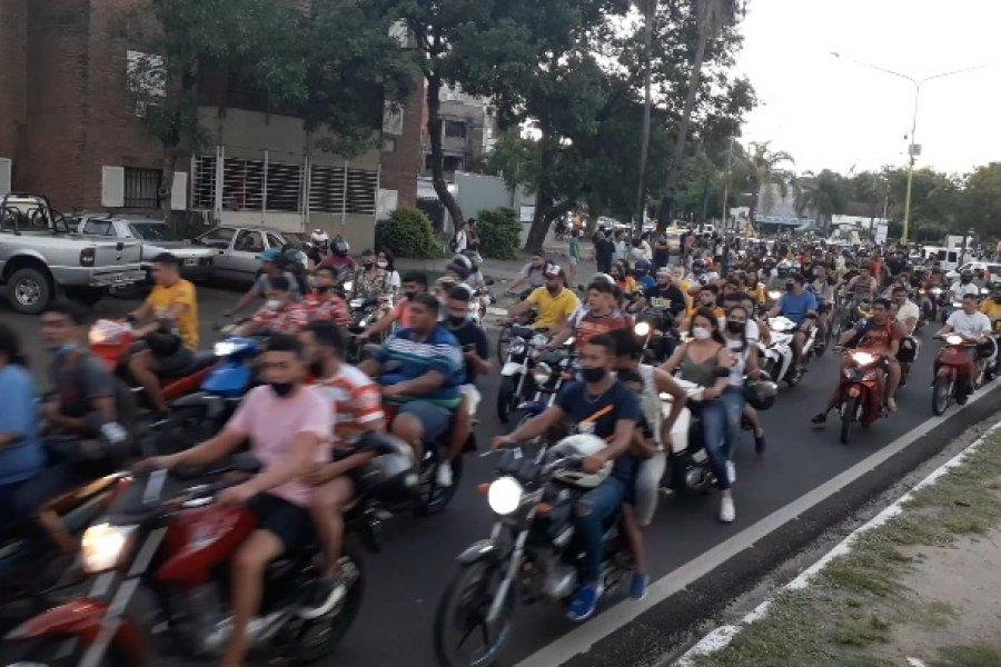 Cierre de los carnavales con aglomeraciones en plena pandemia