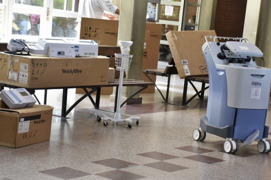 Salud entregó modernos equipamientos al hospital Pediátrico