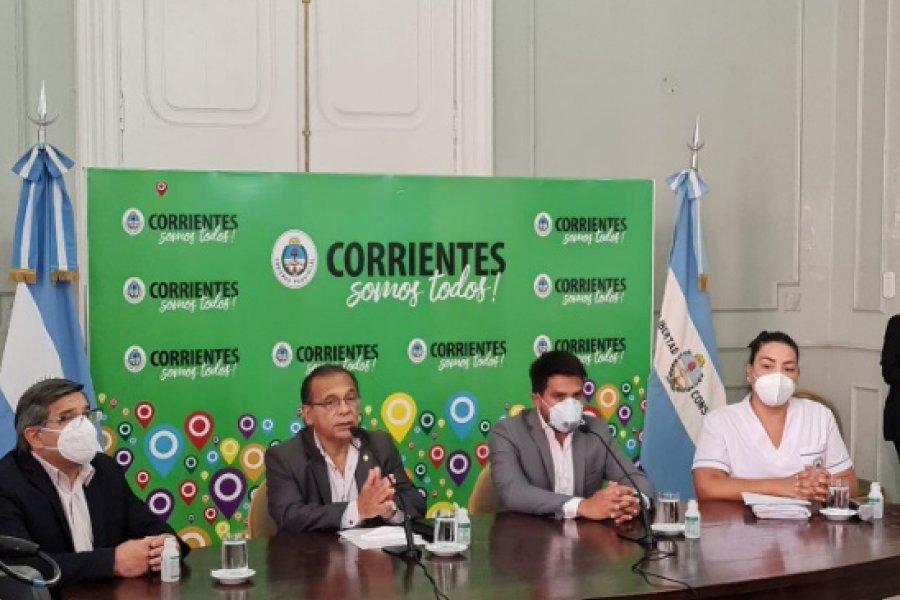 Corrientes: Vacunación a mayores de 65 años inicia con 1.500 dosis