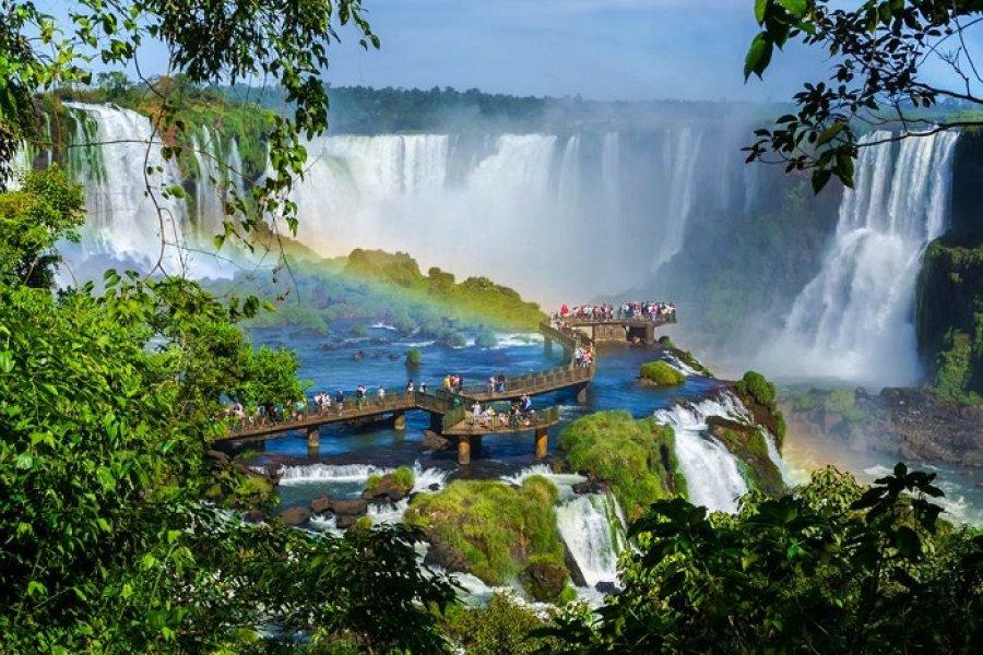 Las Cataratas del Iguazú fueron elegidas como la tercera Maravilla Incuestionable del mundo
