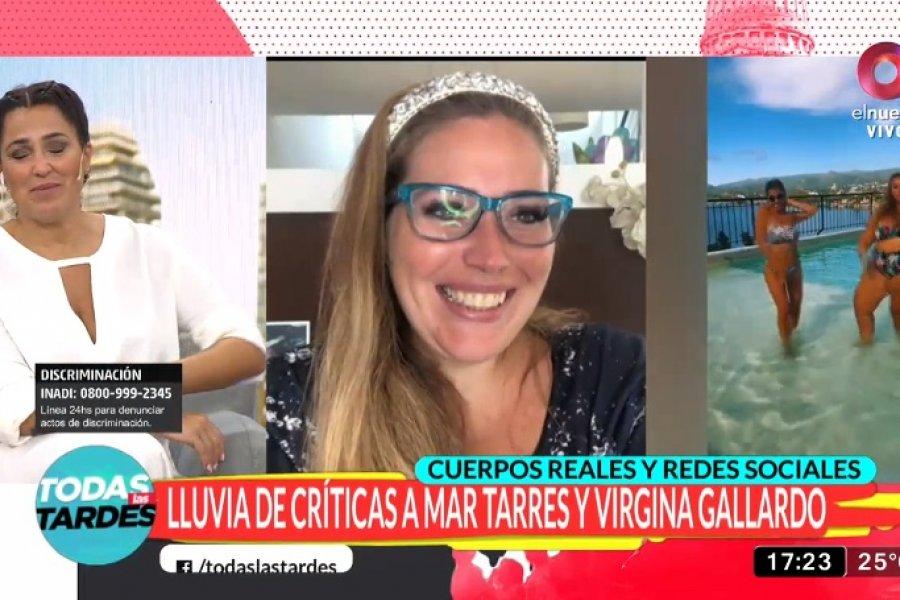 Lluvia de críticas a Mar Tarres y Virginia Gallardo