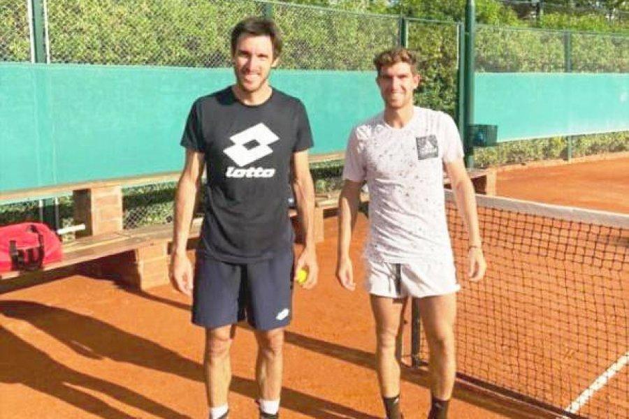 Los tenistas correntinos entrenaron juntos