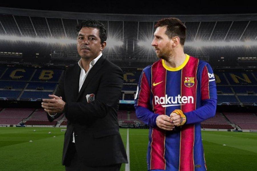 Marcelo Gallardo rechazó dirigir al Barcelona en 2020