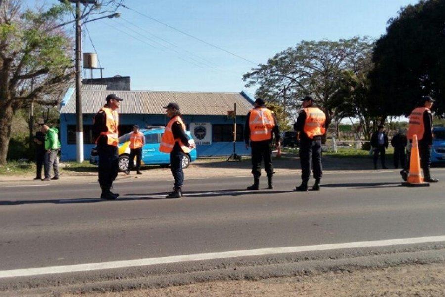 La Policía de Corrientes se adhirió al Plan Federal de Alcoholemia