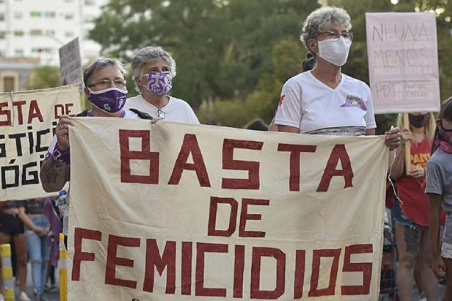 Hubo 279 femicidios desde que comenzó el aislamiento por la pandemia