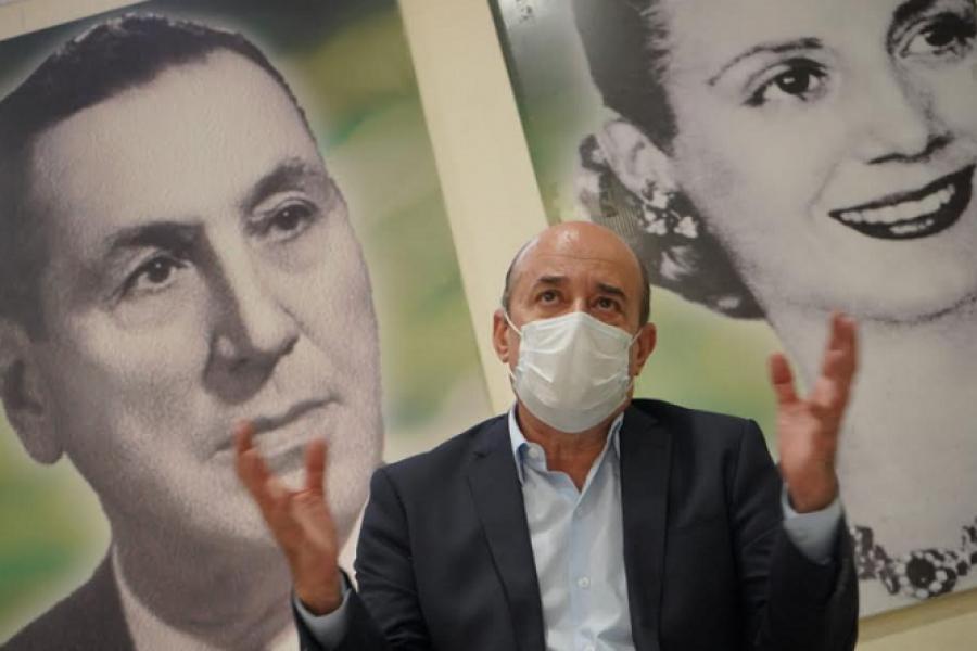 Nuevo encuentro del vicegobernador Gustavo Canteros con Gremialistas