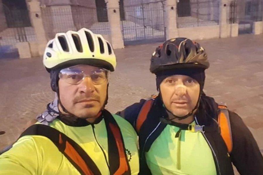 Peregrinos pedalearán casi 1.200 kilómetros hasta la Basílica de Itatí