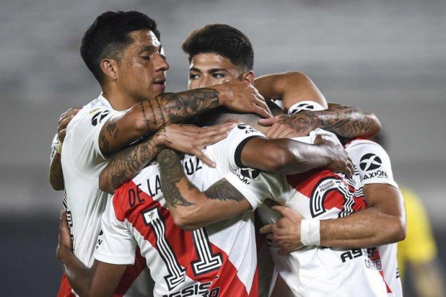 River le ganó 3 a 0 a Rosario Central en el nuevo Monumental