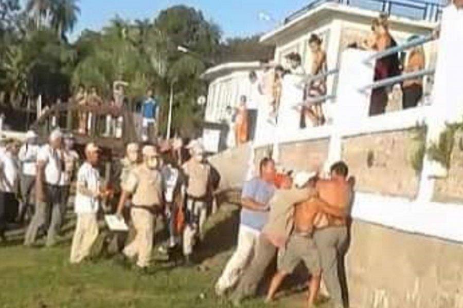 Escándalo en la Fiesta del Pacú: Un participante agredió a una fiscal