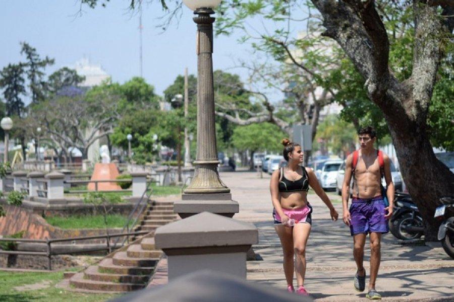 Calor en Corrientes: Se espera una máxima de 36 grados