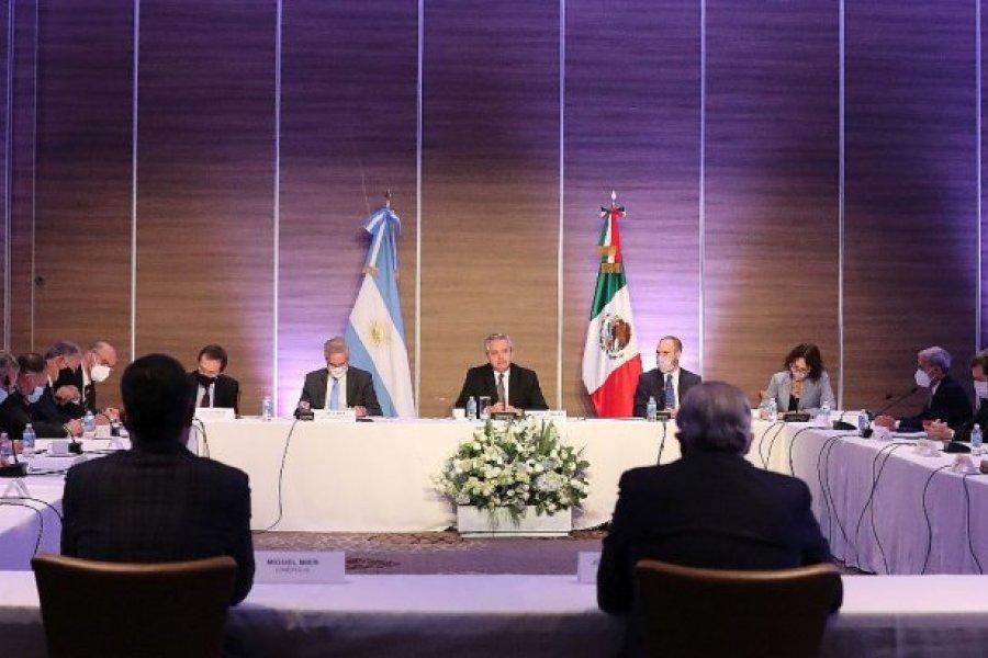 Alberto Fernández se reunió con empresarios mexicanos que tienen inversiones en Argentina