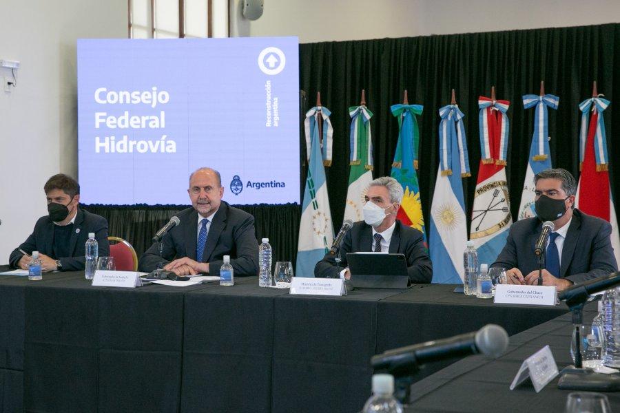 Se realizó el primer encuentro del Consejo Federal Hidrovía